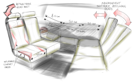TG0006 - interior bed layout dimensions