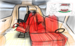 TG0039 - max people fit interior layout